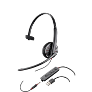 Plantronics Blackwire C315.1-M USB Headset w/3.5mm Jack