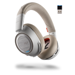 Plantronics Voyager 8200 UC White Stero Bluetooth Headet