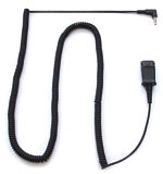 Plantronics 10ft 2.5mm to Quick Disconnect Coil Cable - Click Image to Close