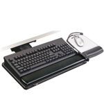 3M AKT100LE Adjustable Keyboard Tray
