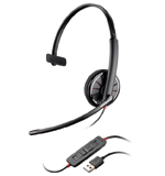 Plantronics Blackwire C315 Foldable USB Headset - Click Image to Close