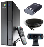 VidyoRoom HD 50 Endpoint Bundle - with camera and speakerphone