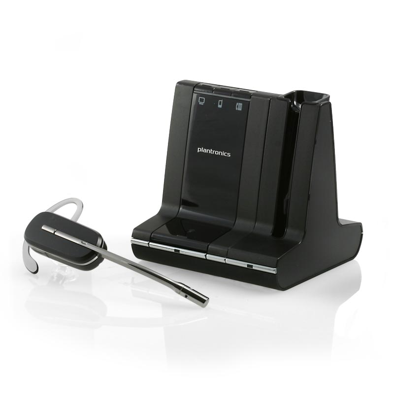 Plantronics Savi W740-M Wireless Headset - Click Image to Close