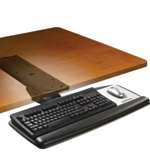 3M AKT60LE Adjustable Keyboard Tray - Click Image to Close